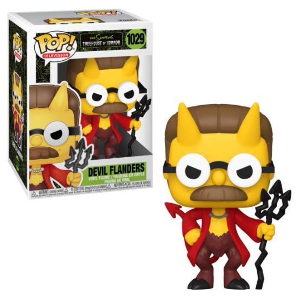 Funko Pop! figuur The Simpsons Devil Flanders