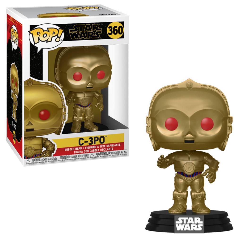 Funko Pop! Star Wars figuur C-3PO met rode ogen