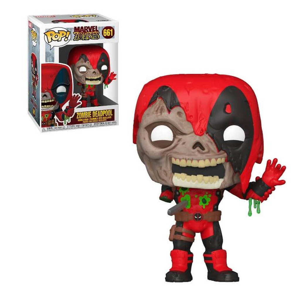 Funko Pop! figuur Marvel Zombies Deadpool