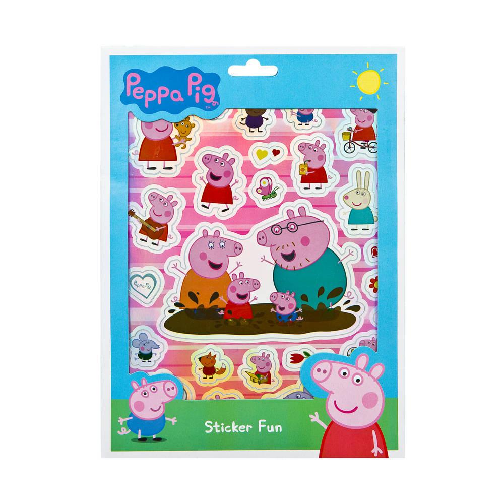 Sticker Sticker Fun Peppa Pig