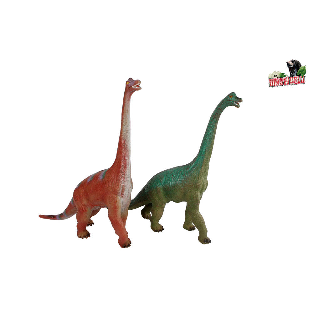 Dinoworld dinosaurus met geluid Brachiosaurus - 58 cm