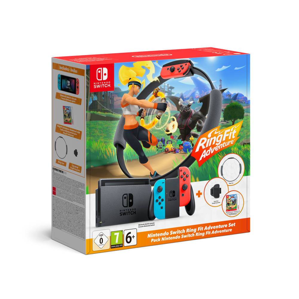 Nintendo Switch + Ring Fit Adventure