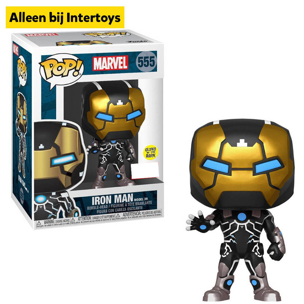 Funko Pop! figuur Marvel Iron Man model 39 Special Edition