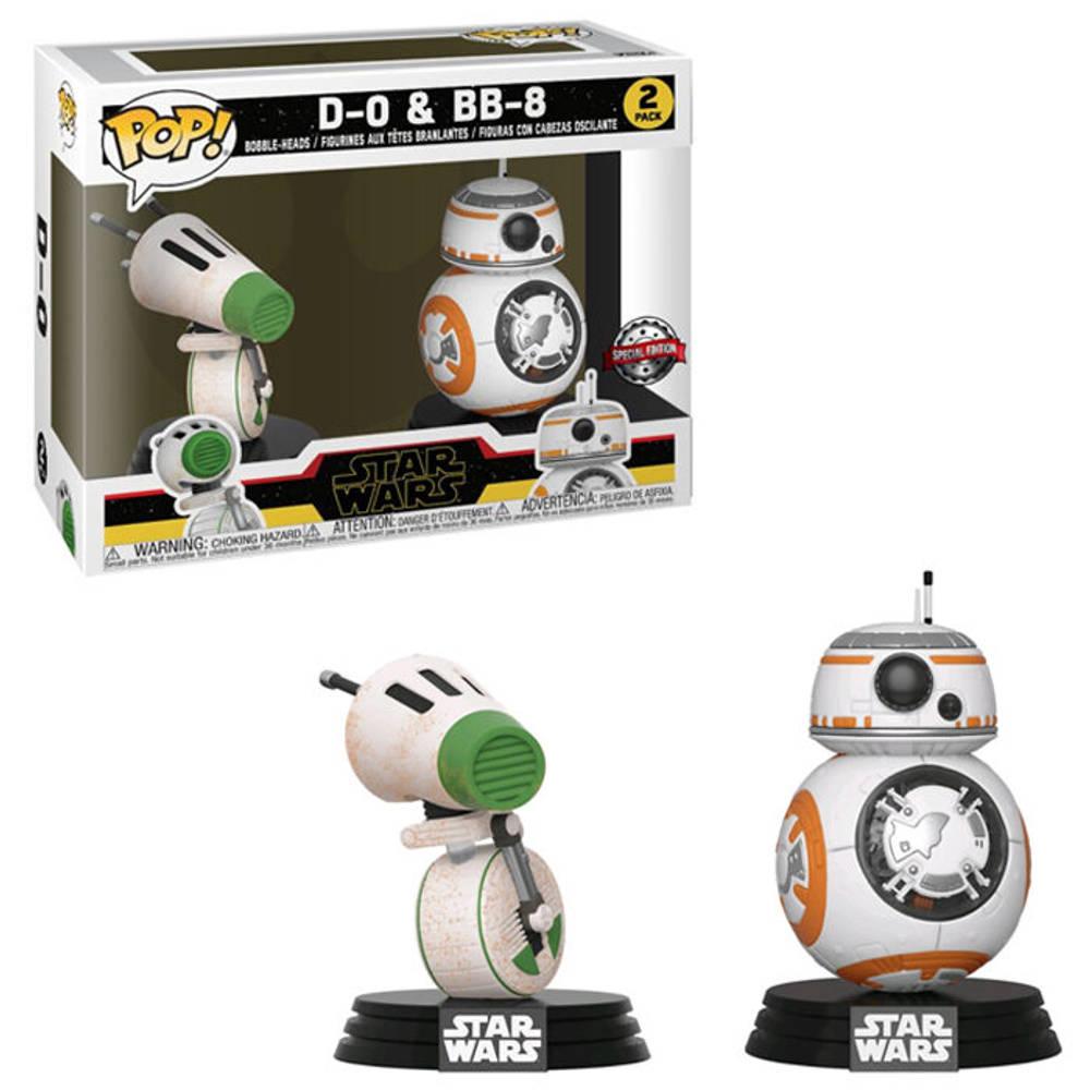 Funko Pop! figuren Star Wars D-O en BB-8 2-pack Special Edition