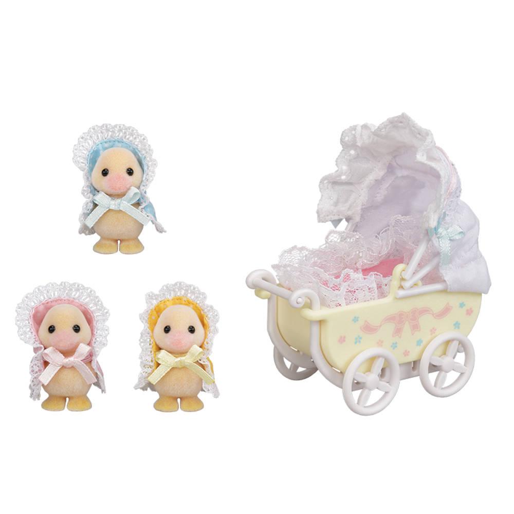 Sylvanian Families eendjes drieling met kinderwagen 5601