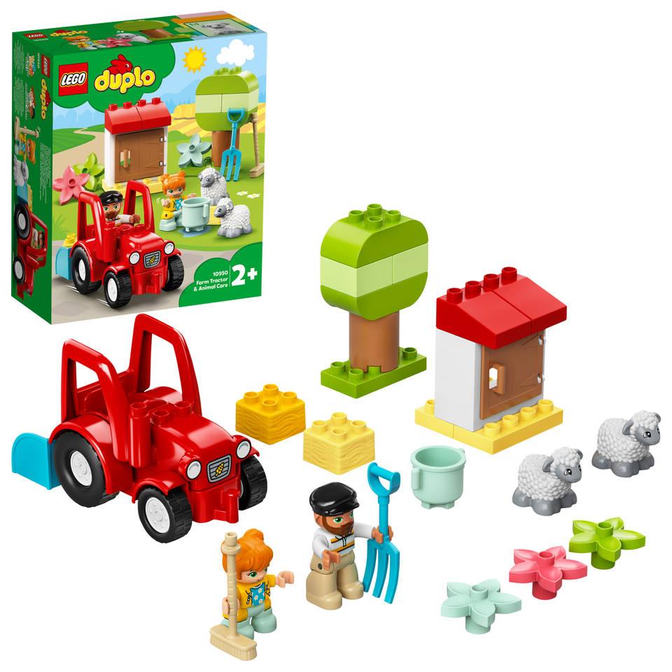 LEGO DUPLO landbouwtractor en dieren verzorgen 10950