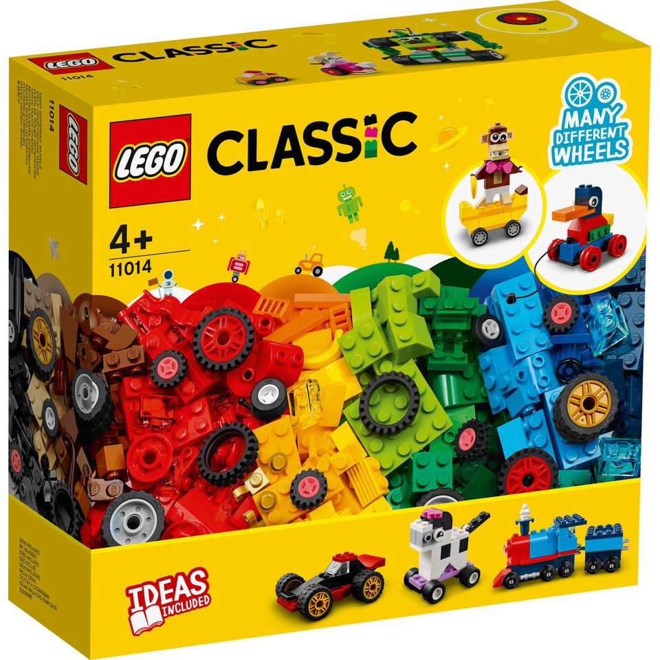 LEGO Classic stenen en wielen 11014