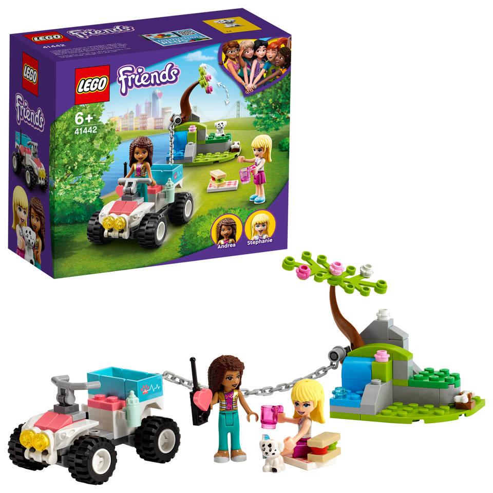 LEGO Friends dierenkliniek reddingsbuggy 41442