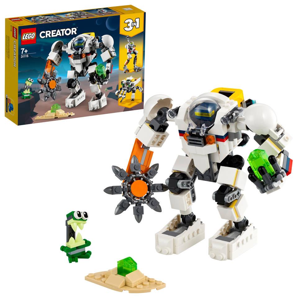 LEGO Creator ruimtemijnbouw mecha 31115