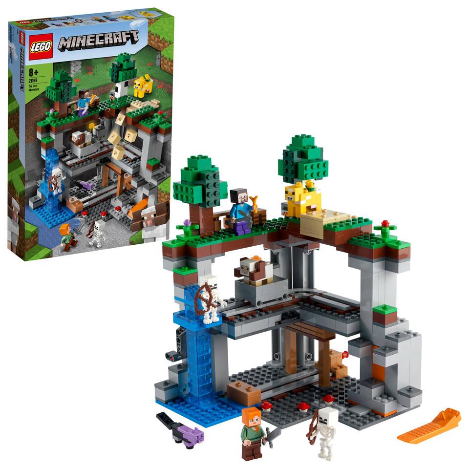 LEGO Minecraft het allereerste avontuur 21169