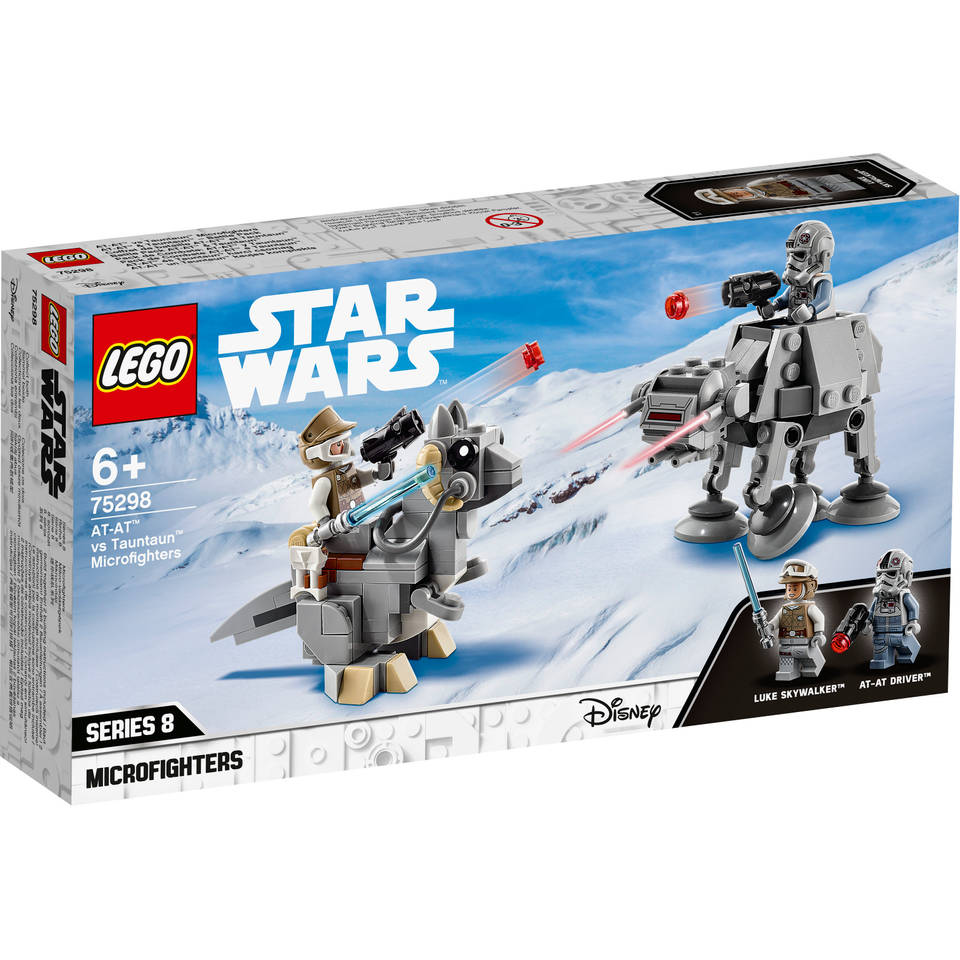 LEGO Star Wars AT AT vs Tauntaun Microfighters 75298