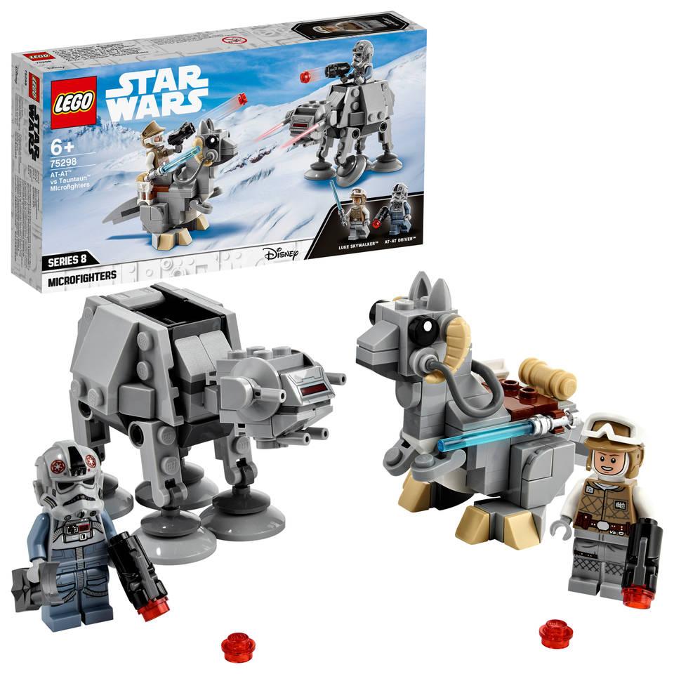 LEGO Star Wars AT AT vs Tauntaun Microfighters 75298