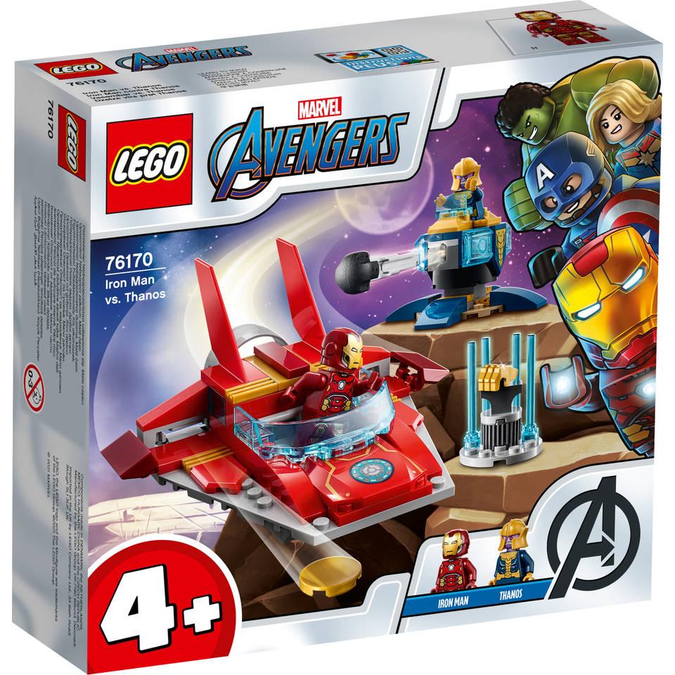 LEGO Marvel Super Heroes Iron Man vs Thanos 76170