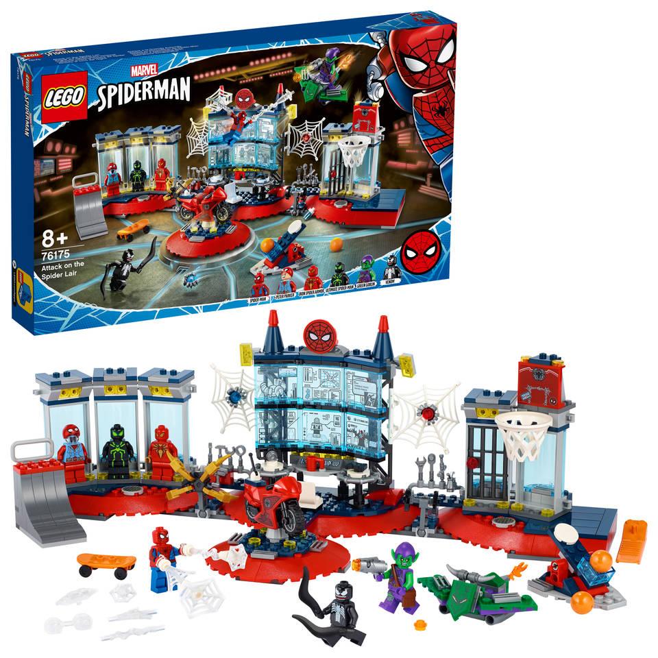 LEGO Marvel Super Heroes aanval op de Spider schuilplaats 76175