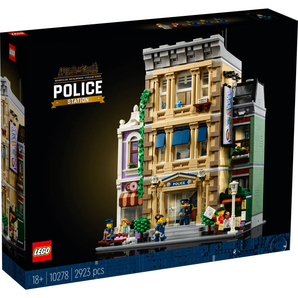 LEGO Creator Expert politiebureau 10278