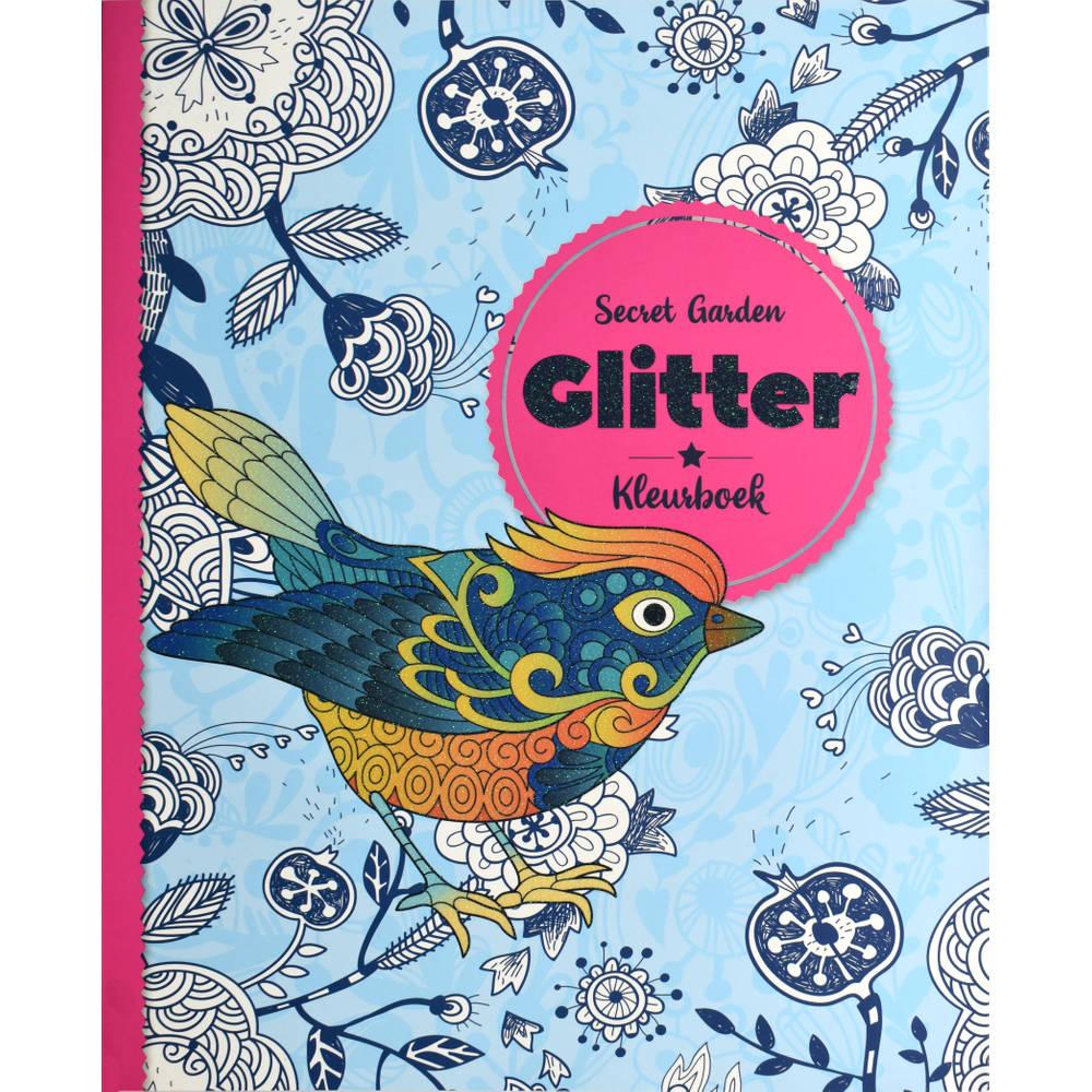 Glitter kleurboek Secret Garden