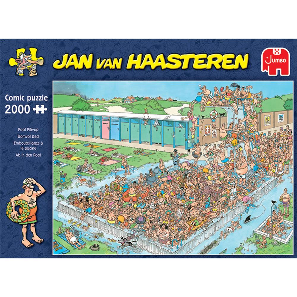 Jumbo Jan van Haasteren puzzel bomvol bad - 2000 stukjes
