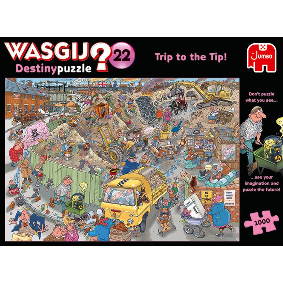 Jumbo Wasgij Destiny 22 puzzel alles op een hoop - 1000 stukjes