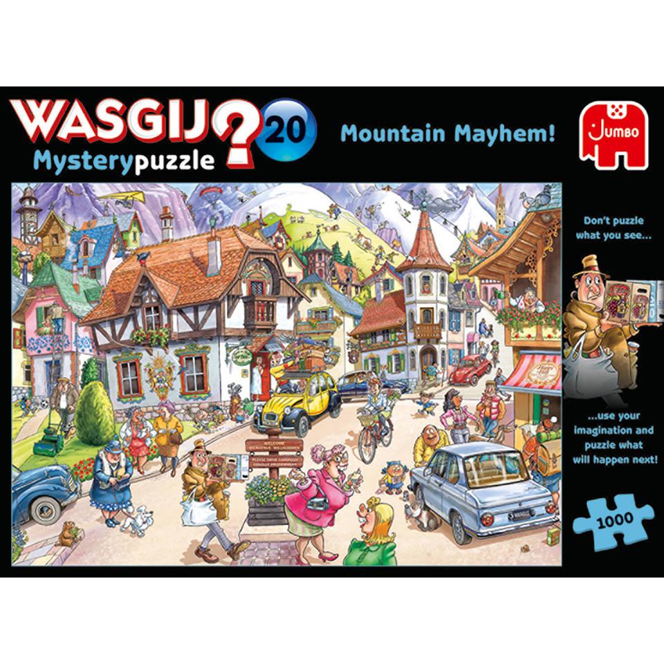 Jumbo Wasgij Mystery 20 puzzel vakantie in de bergen - 1000 stukjes