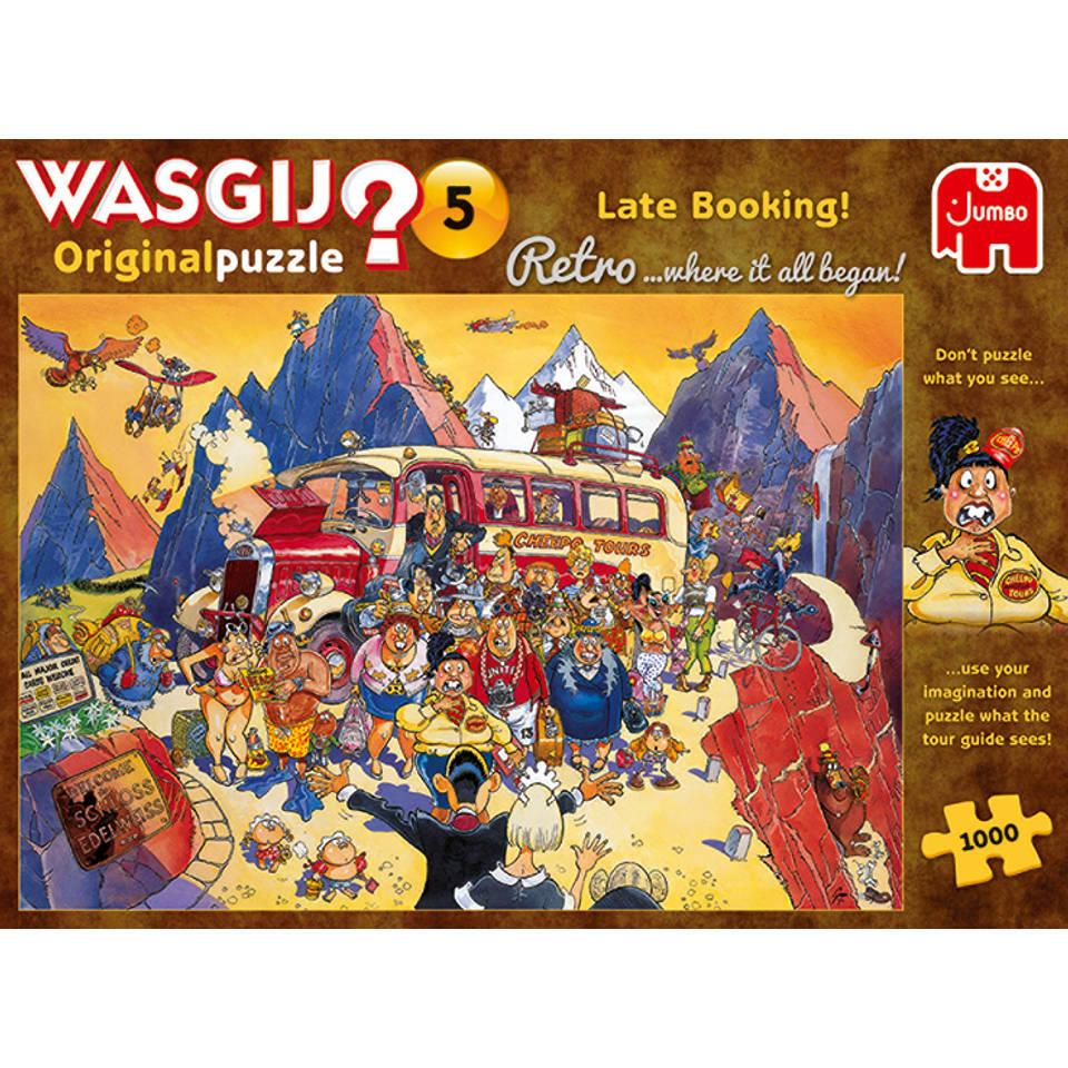Jumbo Wasgij Retro Original 5 puzzel last-minute booking - 1000 stukjes