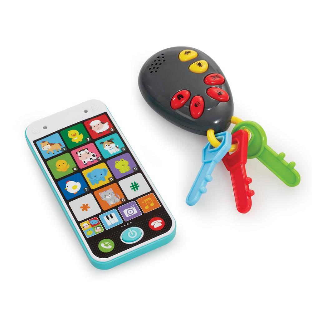 Muzikale mobiele telefoon en sleutel set