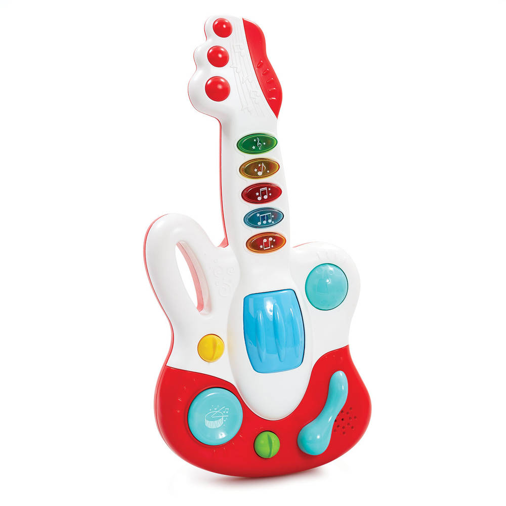 Licht en geluid gitaar