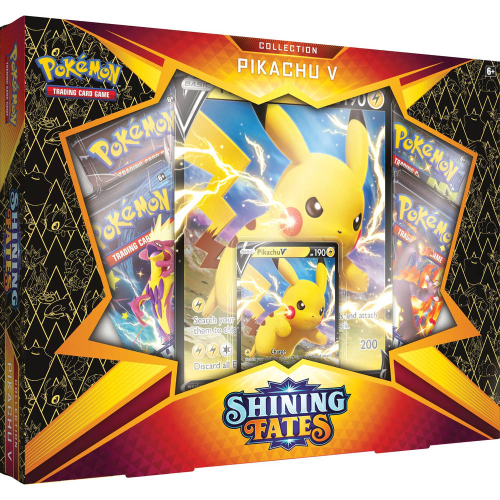 Pokémon Trading Card Game Shining Fates Pikachu V box