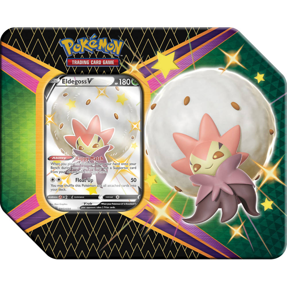 Pokémon TCG Shining Fates tin Eldegoss