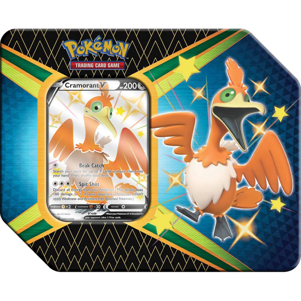 Pokémon TCG Shining Fates tin Cramorant