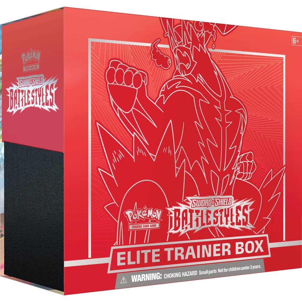 Pokémon Trading Card Game Sword & Shield Battle Styles Elite Trainer Rapid Strike Urshi