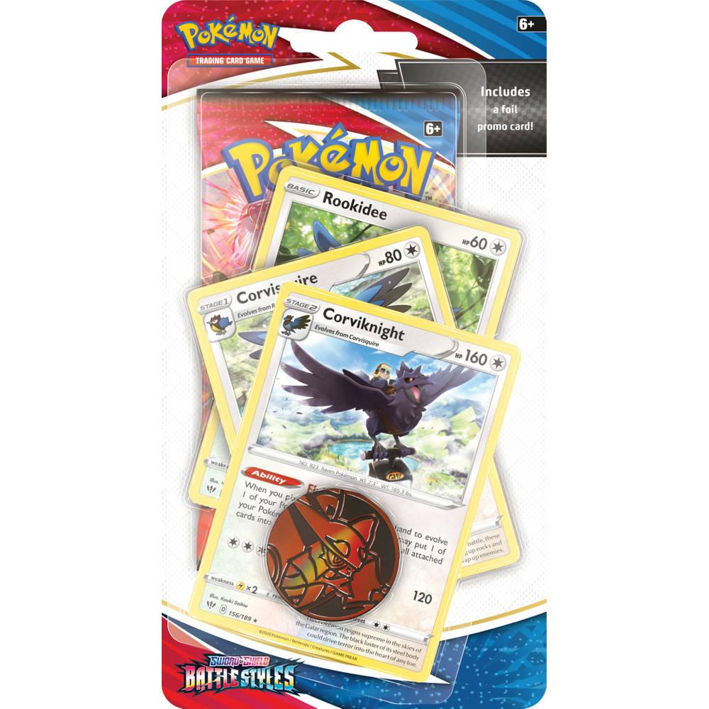 Pokémon Trading Card Game Sword & Shield Battle Styles Premium Checklane Corviknight