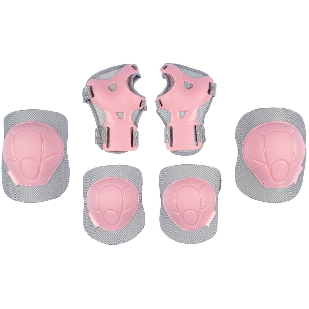 Nijdam skatebeschermingset Concrete Rose - maat L - roze