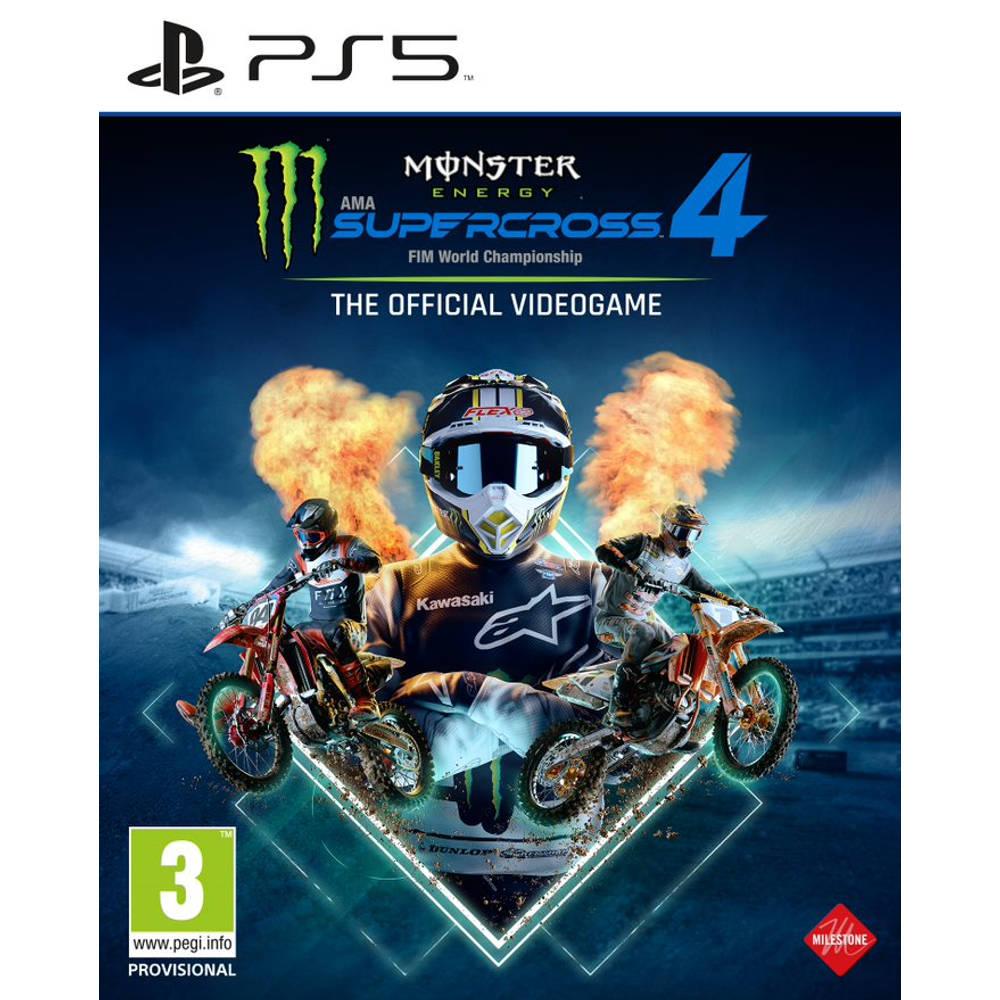 PS5 Monster Energy Supercross 4