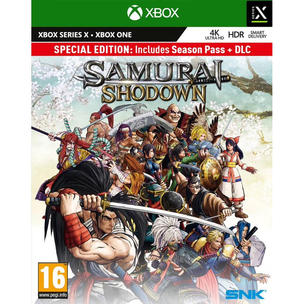 Xbox Series X & Xbox One Samurai Shodown Special Edition