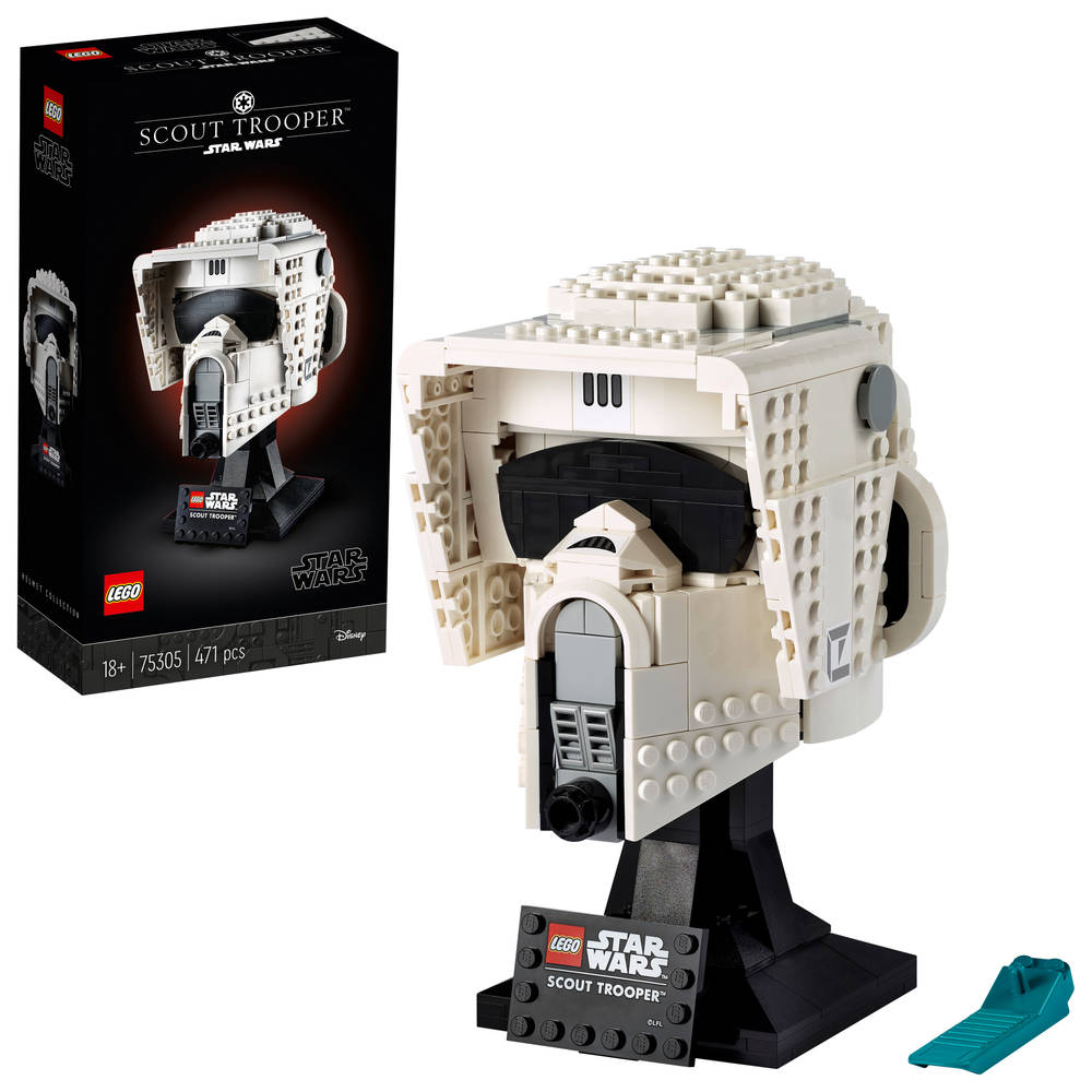LEGO Star War Scout Trooper helm 75305
