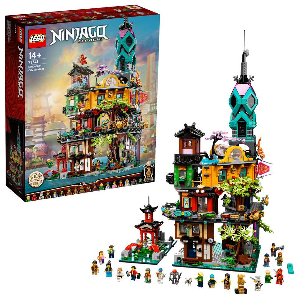 LEGO Ninjago stadstuinen 71741