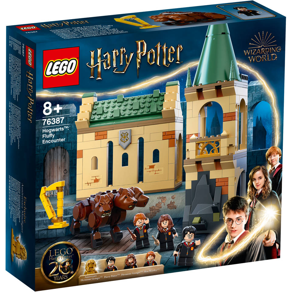 LEGO Harry Potter Zweinstein pluizige ontmoeting 76387