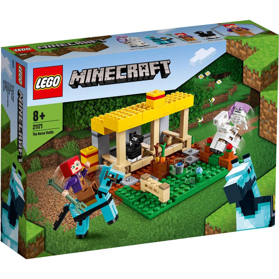 LEGO Minecraft de paardenstal 21171