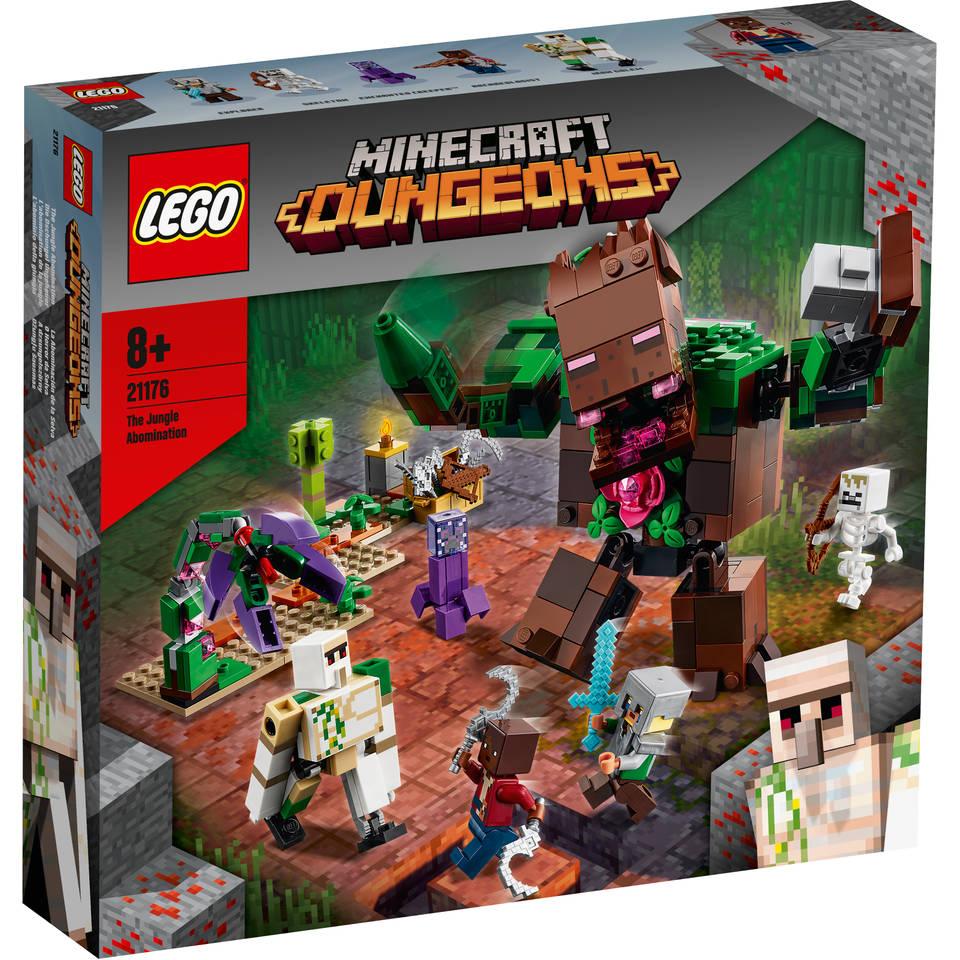LEGO Minecraft de junglechaos 21176