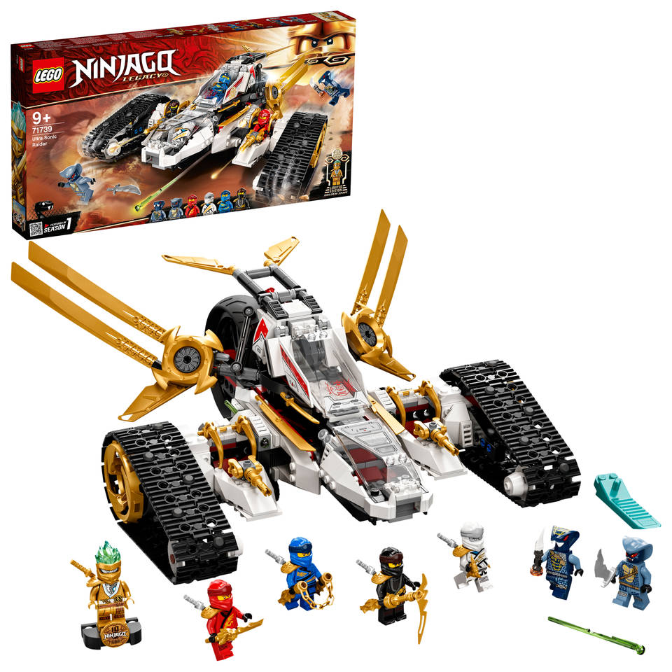 LEGO Ninjago ultrasone aanval 71739