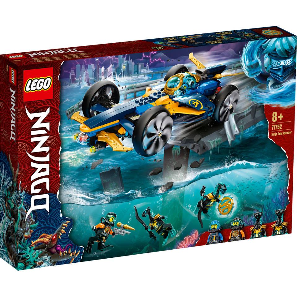LEGO Ninjago Ninja sub-speeder 71752
