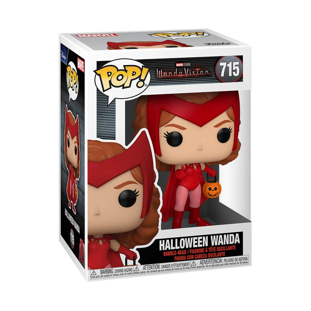 Funko Pop! figuur Marvel WandaVision Halloween Wanda