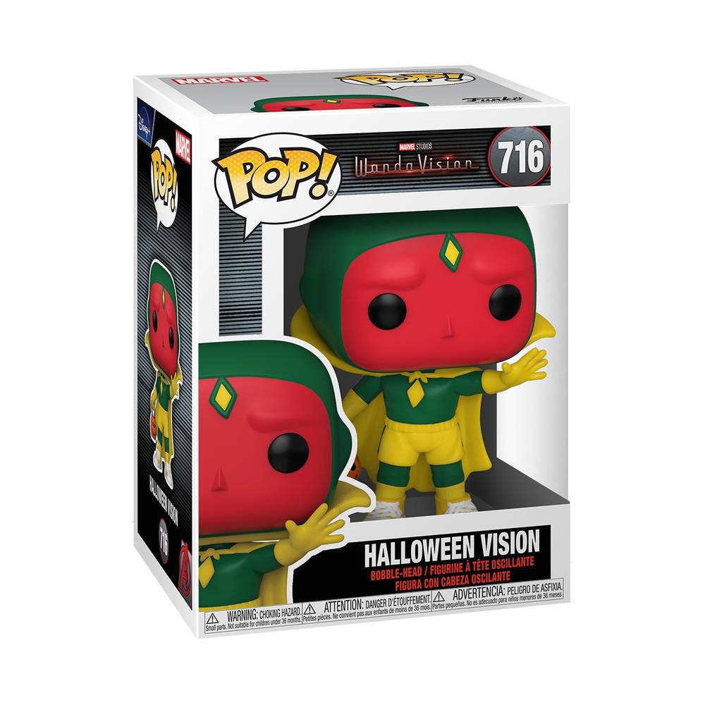 Funko Pop! figuur Marvel WandaVision Halloween Vision
