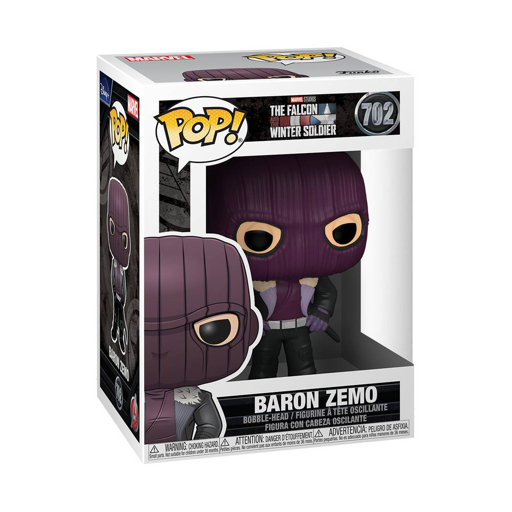 Funko Pop! figuur The Falcon and the Winter Soldier Baron Zemo