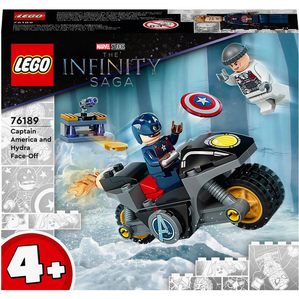 LEGO Marvel Super Heroes Captain America Hydra confrontatie 76189