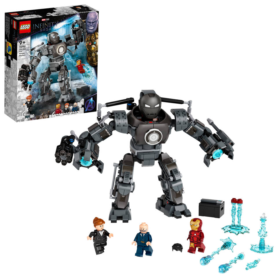 LEGO Marvel Super Heroes Iron Man: Iron Monger Mayhem 76190