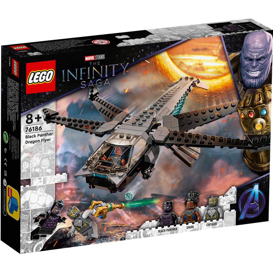 LEGO Marvel Super Heroes Black Panther Dragon Flyer 76186