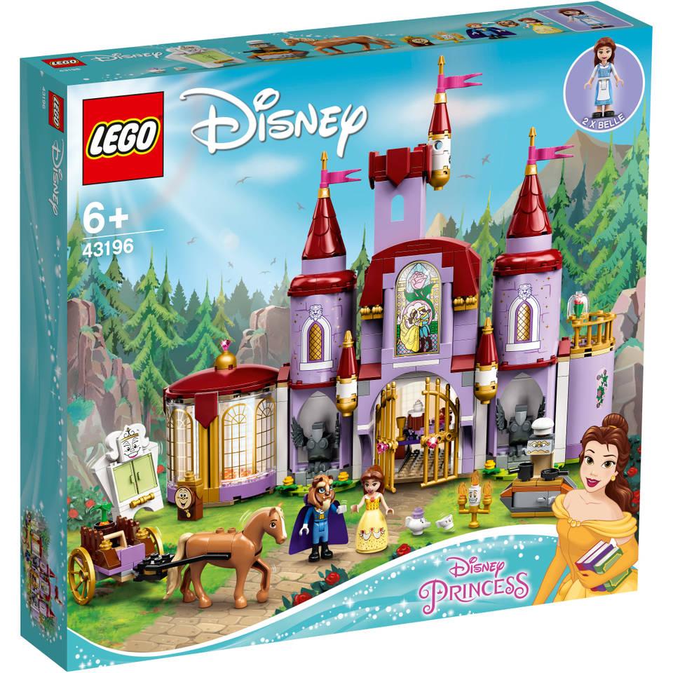 LEGO Disney Princess Belle en het Beest kasteel 43196