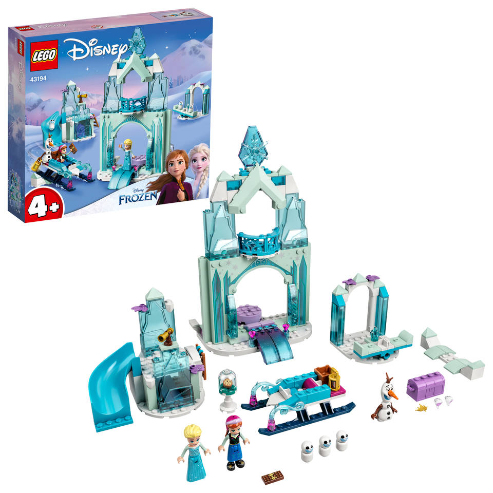 LEGO Disney Princess Anna en Elsas Frozen Wonderland 43194