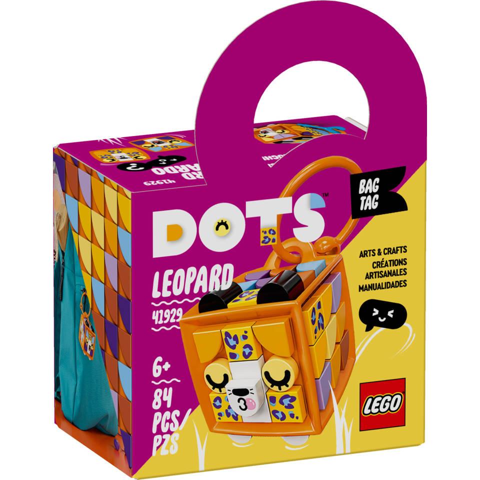 LEGO DOTS tassenhanger luipaard 41929